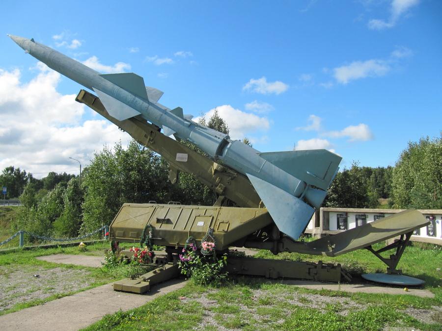ЗРК С-75 Двина (с Вилга, Карелия) (10)
