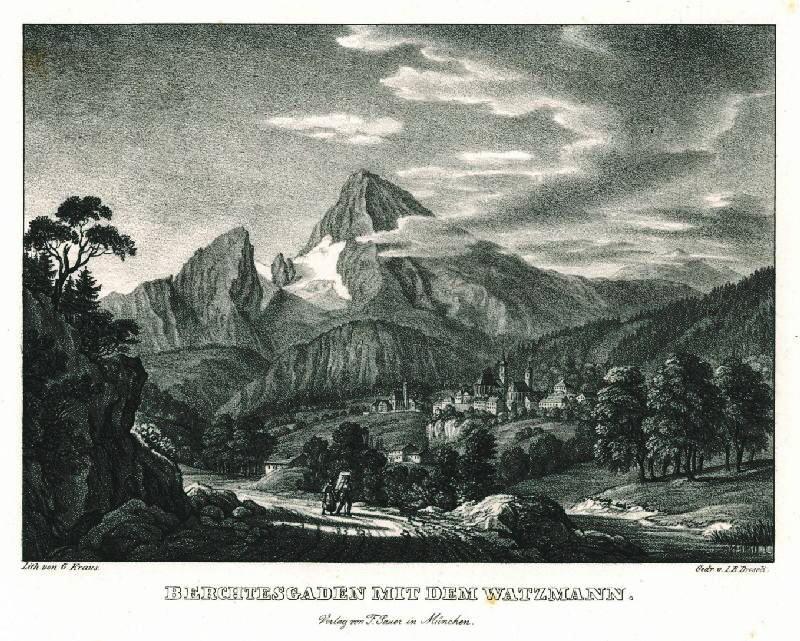 Watzmann Postkarte