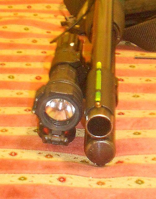 DX с фонарём торец
