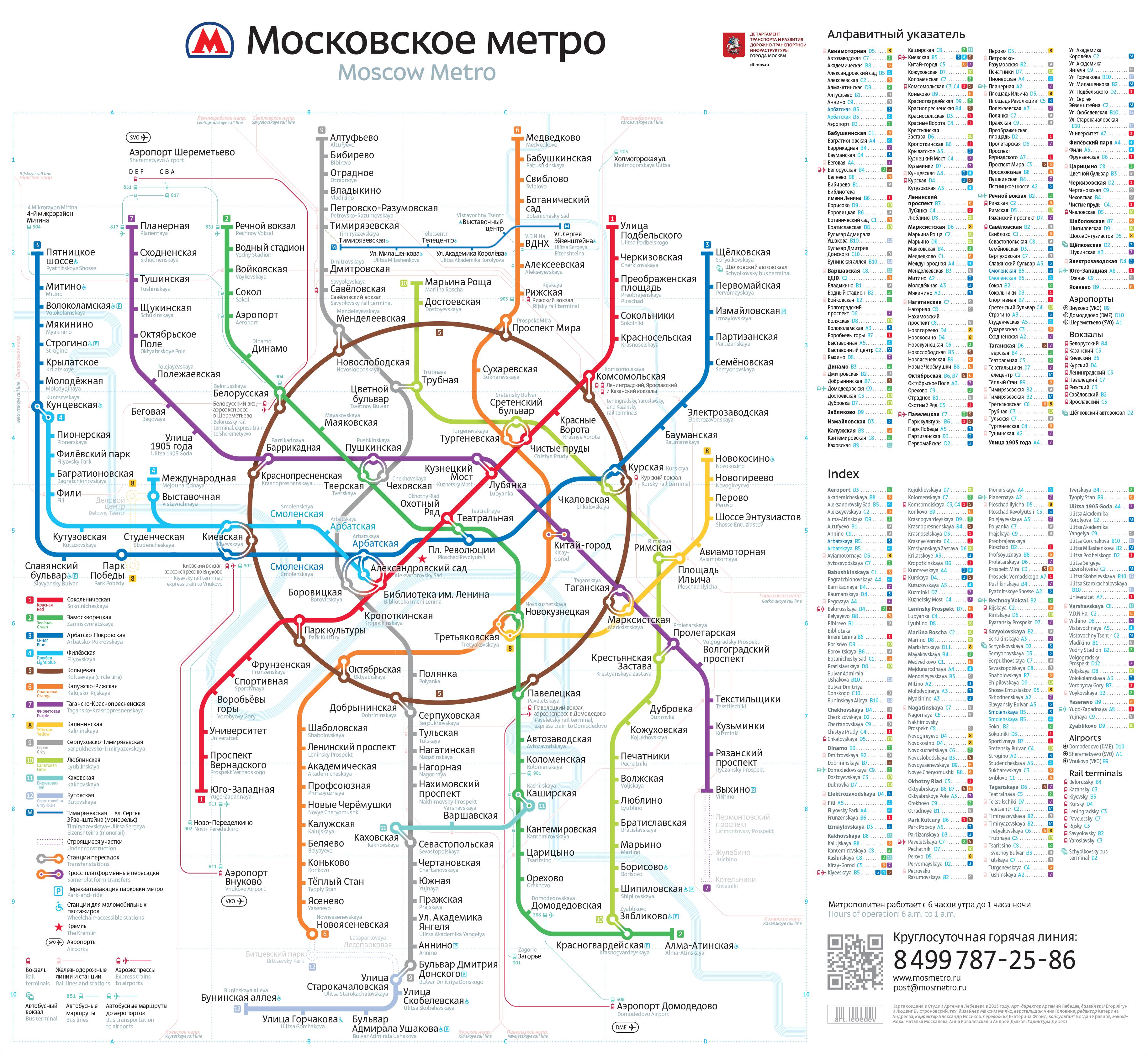 схема московского метрополитена аэроэкспрессов