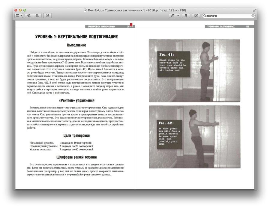 Тренировки заключенных скачать pdf