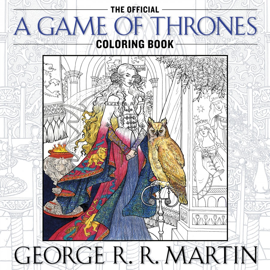 All Men Must Color (Inside the Lines, Please): grrm