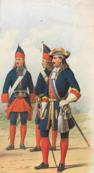 Rus dragoon 1702