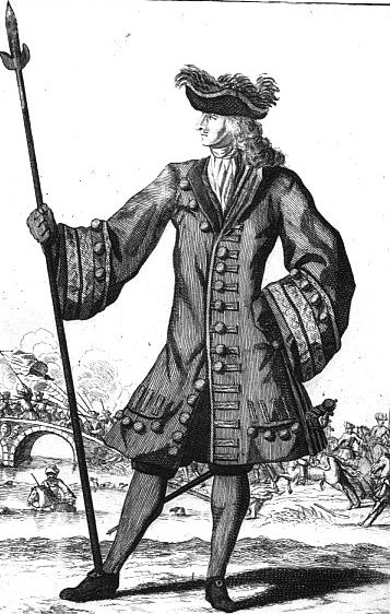 Prussian officer 1700