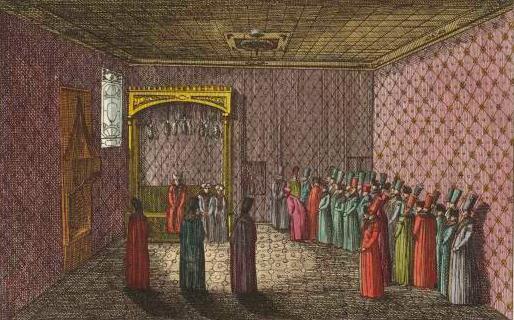 Sala del trono del sultano