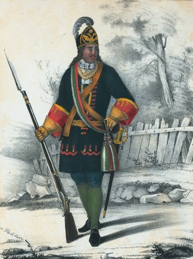 Rus grenad officer 1700-32