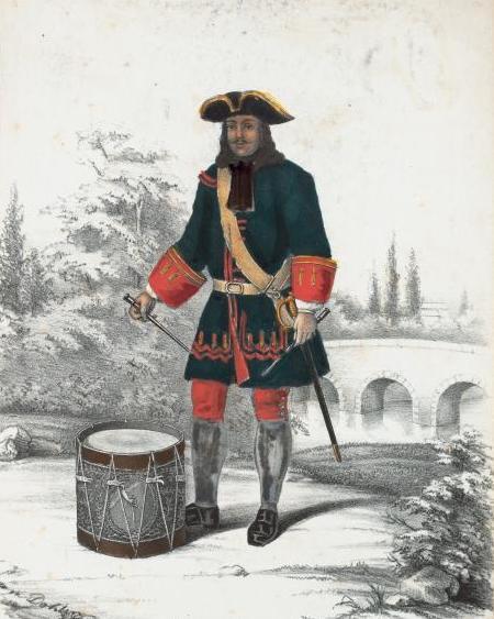 Rus drummer 1700-20