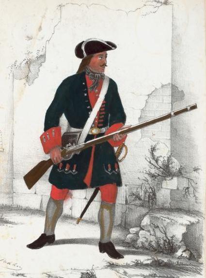 Rus fuz 1700-20