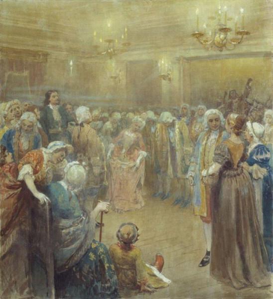 Lebedev_Assambleja pri dvore PI