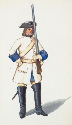 Rus dragoon 1720-2