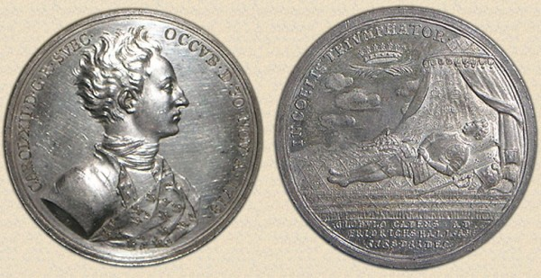 1718_Death of Charles XII