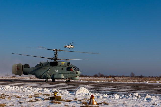 Экскурсия на тренировочные полеты вертолетов - январь 2012
