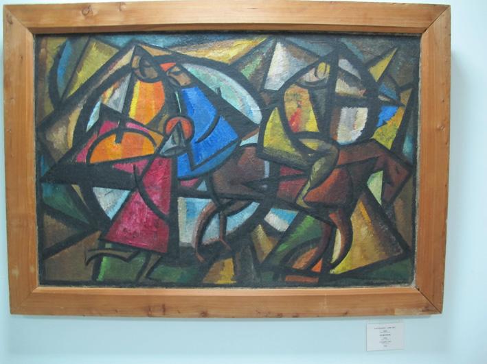 Музей им. Савицкого. Александр Николаевич Волков (1886-1957) Арба, 1924. Нукус, май 2012