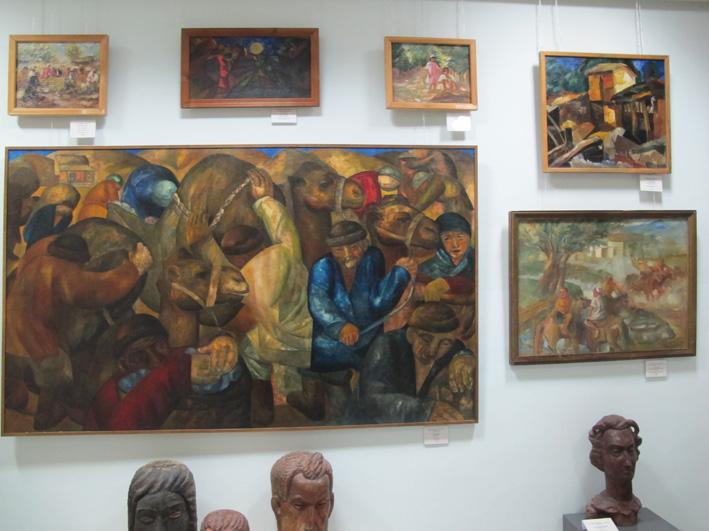 Музей им. Савицкого. Работы Александра Николаевича Волкова (1886-1957). Нукус, май 2012