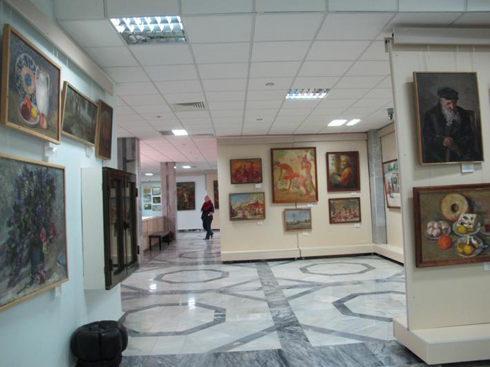 Музей им. Савицкого. Нукус, май 2012