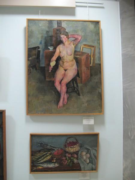 IMG_0614 Осмёркин Александр Александрович (1892-1953). Музей им Савицкого, Нукус май 2011