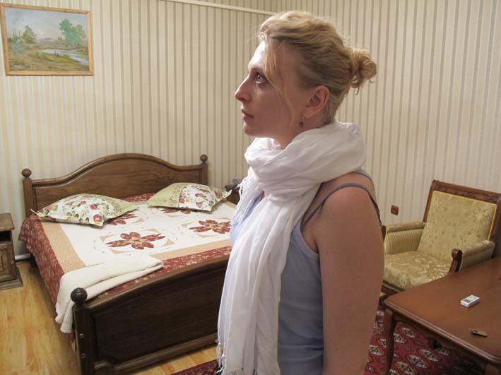 В гостинице Жопек Жоли в Нукусе, май 2012
