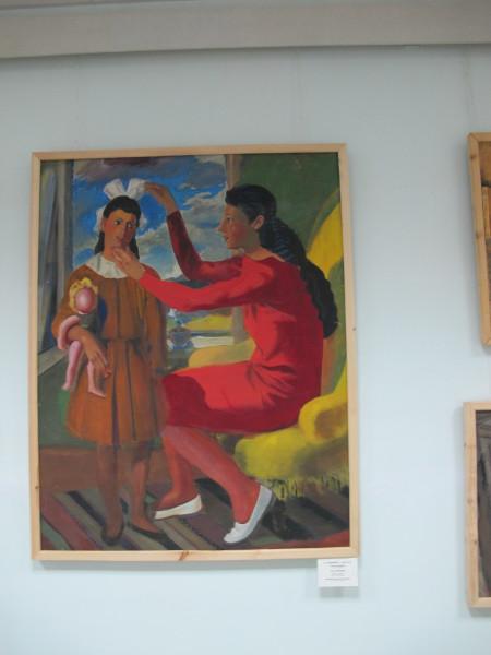 IMG_0691 Шухаев Василий Иванович (1887-1973) Музей имени И.В. Савицкого, Нукус, май 2012
