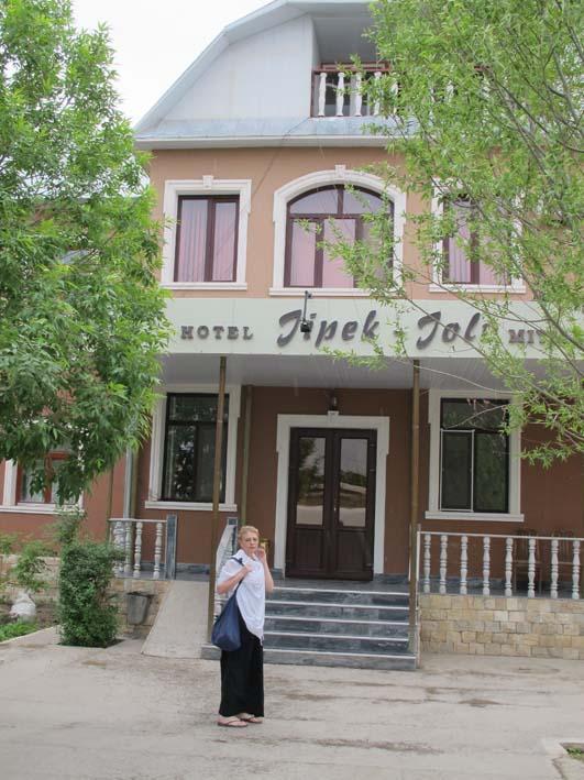 Гостиница Жопек Жоли в Нукусе, май 2012
