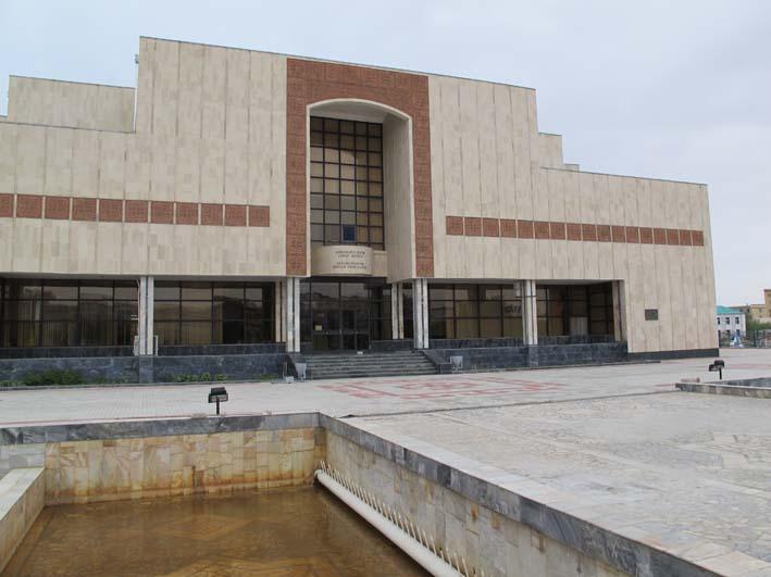 Музей им. И.В. Савицкого в Нукусе, май 2012