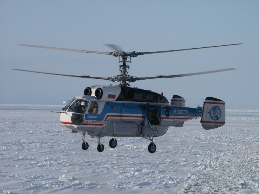 Primorye, ice trails 748