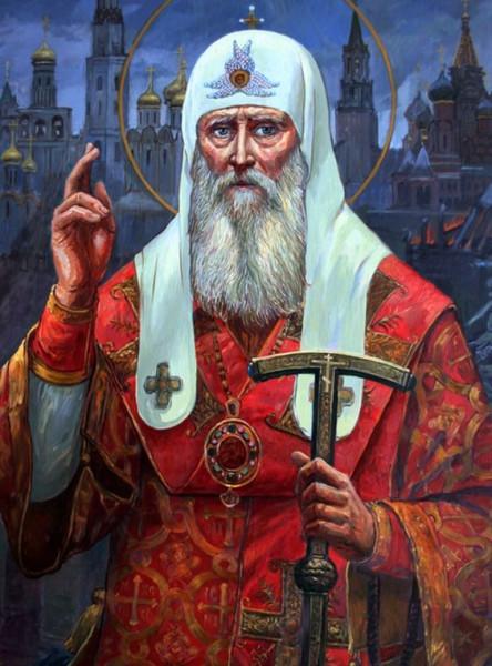 Ф. А. Москвитин. Священномученик Патриарх Гермоген