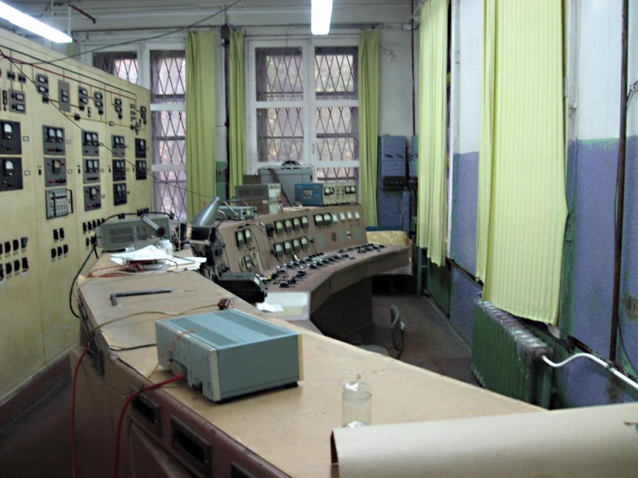 Пульт управления циклотроном