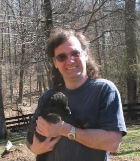 black fuzzy goat