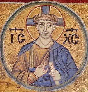 древняя икона Спасителя