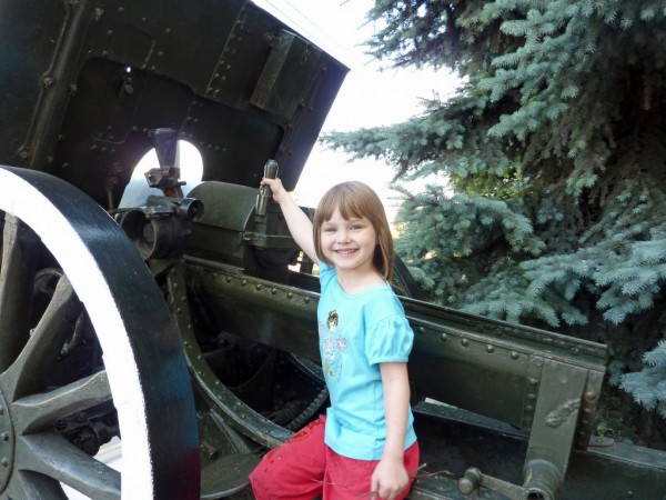 артиллерист-девица