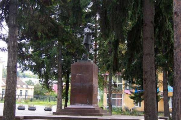 Ленин в Калтане