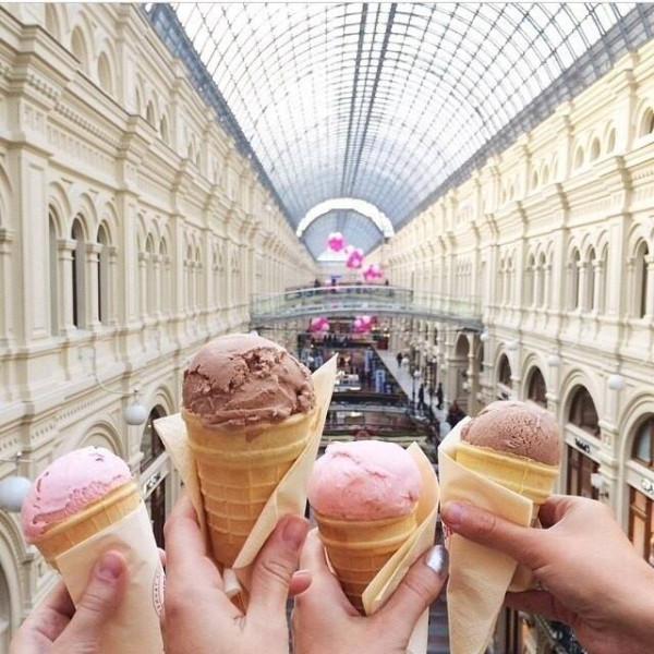 мороженое ГУМ