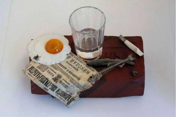 пролетарский завтрак фаберже