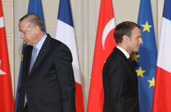 Эрдоган Макрон