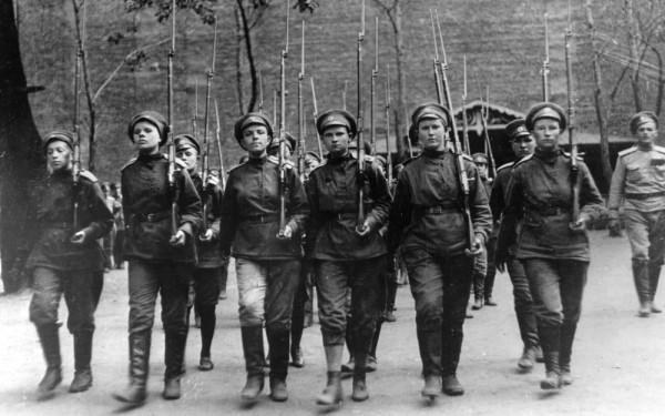женский батальонъ