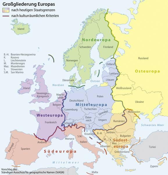Новая германская карта