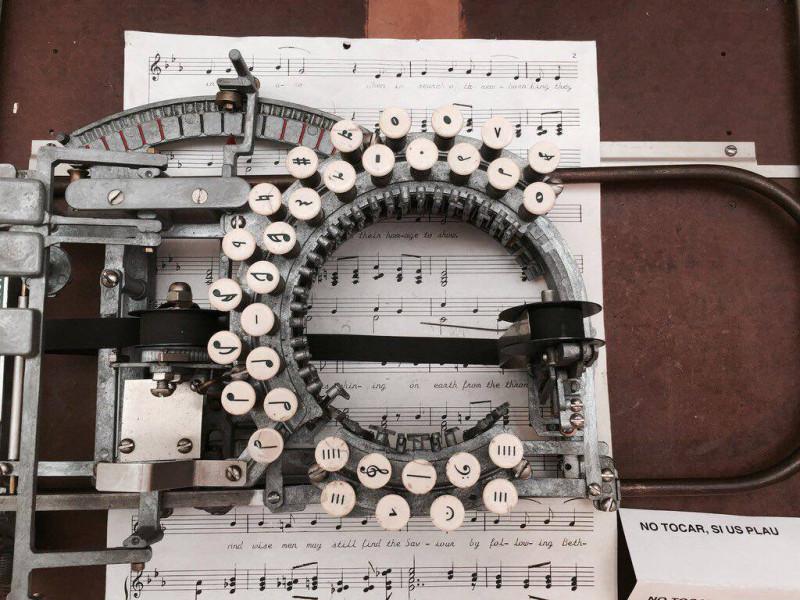 пишмаш для нот