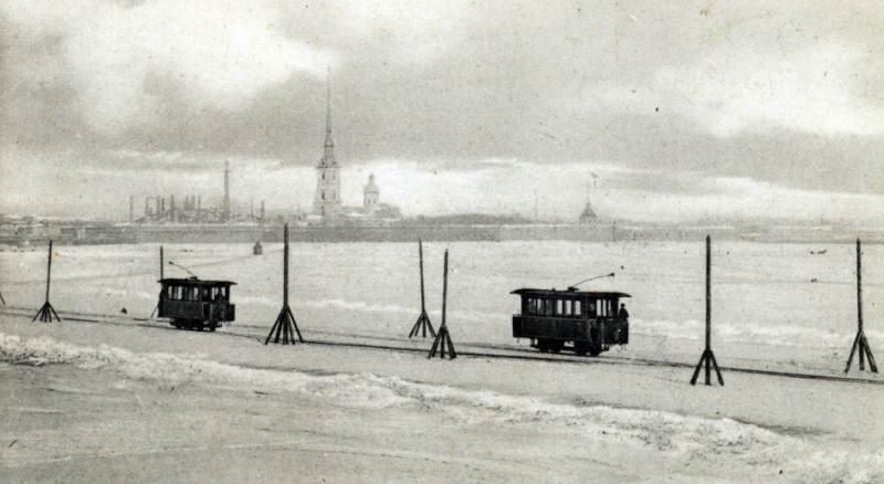 трамваи на льду