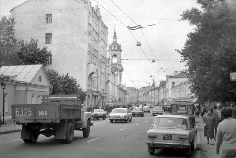 Пятницкая 1980-е