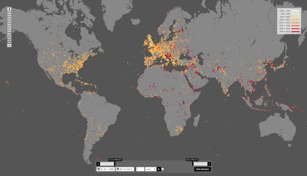 карта войн