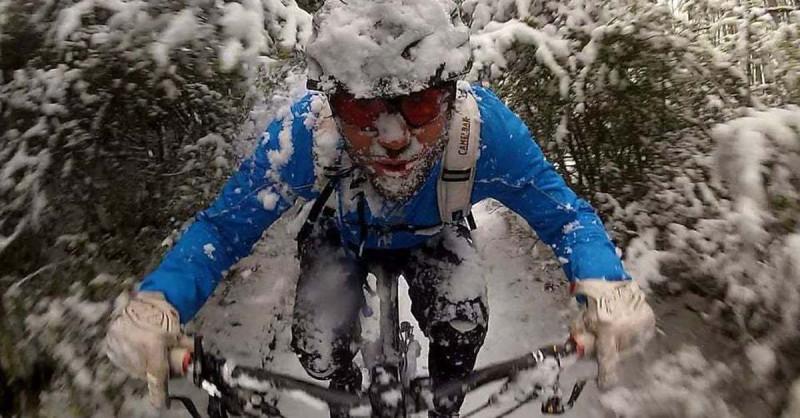 зимний велопробег
