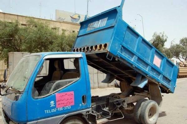 мусоровоз Кассам