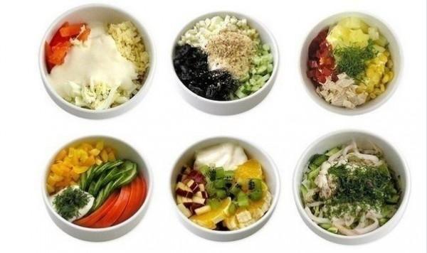 6 салатиков