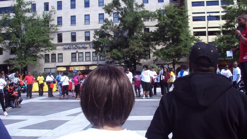 Митинг в поддержку людей с заболеваниями крови