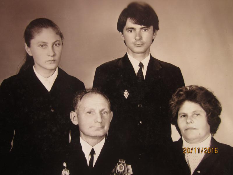 Семья дяди Васи