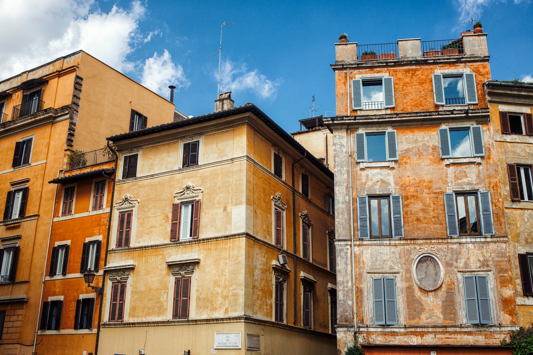 Город цвета охры. Открытки из Рима (весна 2018)
