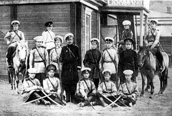 казачки Амурского казачьего войска