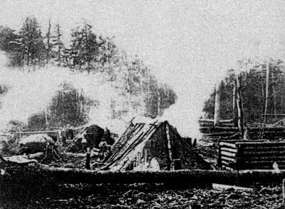 строительство первых поселков
