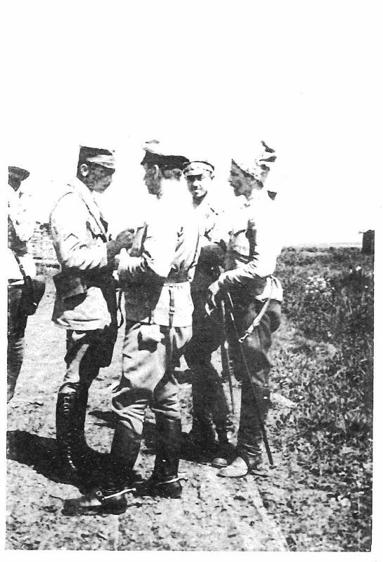 Уссурийские казаки на фото. Хабаровск, 1919 год.