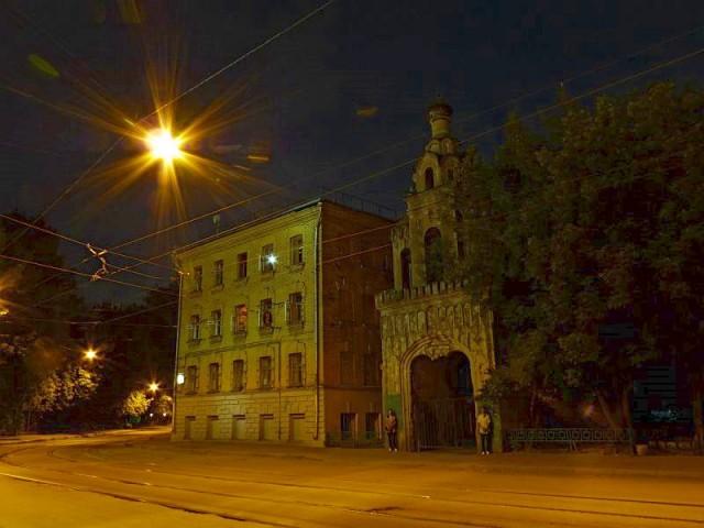 Летняя ночь в Москве